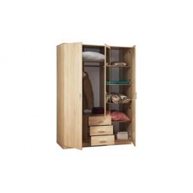 Шкаф Фриз 06.291 с зеркалом, Венге/Дуб Линдберг