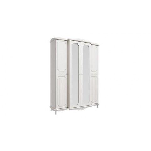 Шкаф для одежды 06.116 Кантри, Вудлайн кремовый/Сандал белый