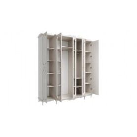 Шкаф для одежды 06.95 Кантри, Вудлайн кремовый/Сандал белый