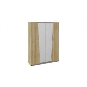 Шкаф комбинированный Клео (Дуб Ривьера/Моод темный)