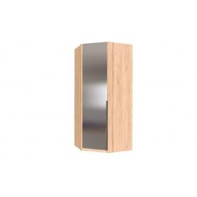Шкаф угловой Норд, с зеркалом, 677.080.000.033, дуб золотой