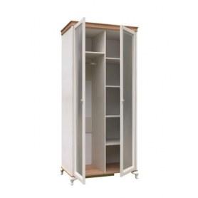 Шкаф двухстворчатый Вилладжио, ЛД 680.080.000.004, 2 зеркала