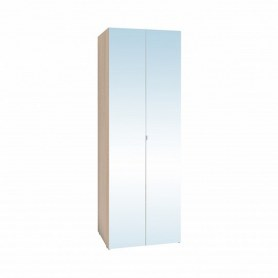 Шкаф Bauhaus 8+ Фасад зеркало, Дуб Сонома