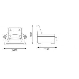 Кресло Твист 5 (Боннель)