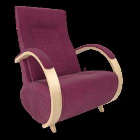 Кресло-глайдер Balance 3 с накладками, Натуральное дерево
