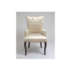 Кресло Виктория (бархат №30/темный тон)