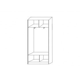 Шкаф-купе 2-х дверный 2200х1200х420 фотопечать, рисунок