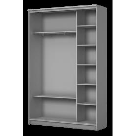 Шкаф-купе 2-х дверный 2400х1500х420 фотопечать, рисунок