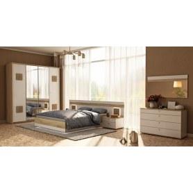 Спальный гарнитур Фиджи 3, белый