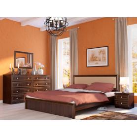 Спальный гарнитур Беатрис (Орех Гепланкт)