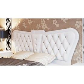 Кровать Аврора с мягким изголовьем СМ-268.01.03