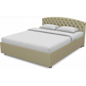 Кровать с подъемным механизмом Пальмира 1600 (Nitro Сream)