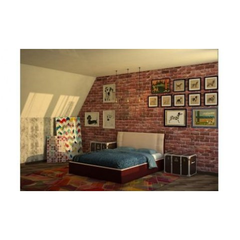 Кровать с подъемным механизмом Boston 160х190