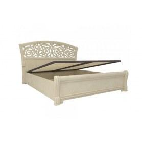 Кровать с подъемным механизмом Александрия 625.250, Кожа Ленто-Рустика