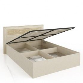 Кровать подъемная Александрия 625.190 1800 Кожа Ленто/Рустика