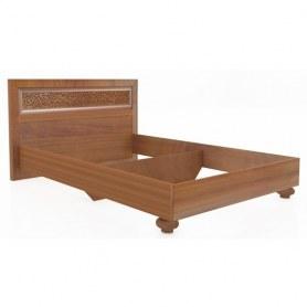 Кровать Александрия 625.170 1800 Кожа Ленто/Рустика