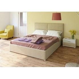 Кровать с подъемным механизмом Прага, Савана Кэмел + кроватное дно