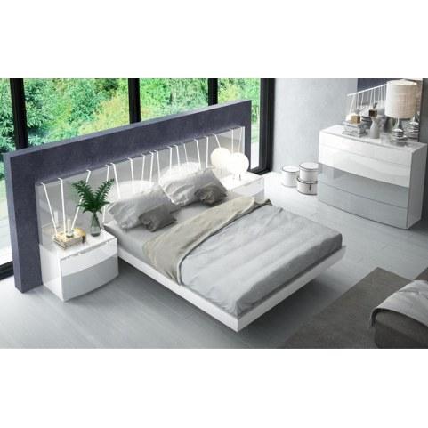 Кровать 606 VANESSA со светодиодной подсветкой (160х200)
