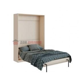 Кровать-шкаф Велена 2, 1400х2000, дуб молочный