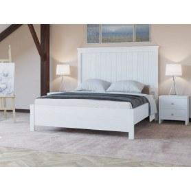 Кровать Woodex, 180х200, белая эмаль