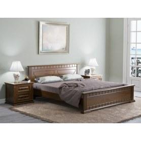 Кровать Milena, 180х200, сосна, венге
