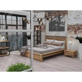 Кровать Fiord, 160х200, сосна, антик