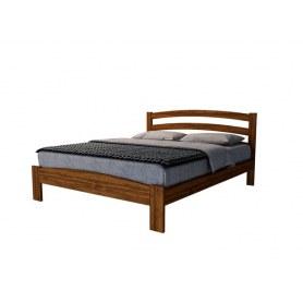 Кровать Веста 2-M-R, 200х200, береза, орех