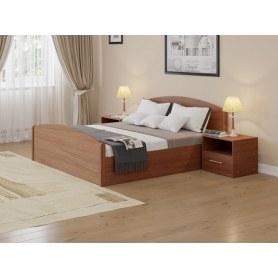 Кровать с подъемным механизмом Аккорд, 180х200, ясень шимо темный
