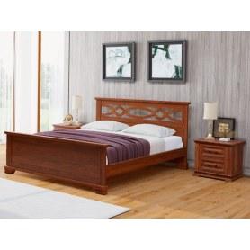 Кровать Nika-M, 180х200, береза, орех