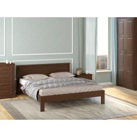 Кровать Milena-тахта, 200х200, сосна, орех