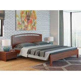 Кровать Веста 1-M-тахта-R, 180х200, береза, орех