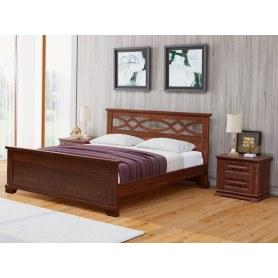 Кровать Nika-M, 180х200, сосна, венге