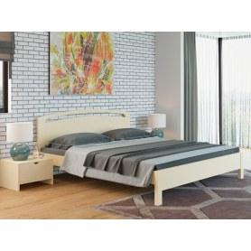 Кровать Веста 1-тахта-R, 160х200, береза, слоновая кость