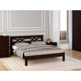 Кровать Nika-тахта, 200х200, береза, венге