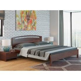 Кровать Веста 1-тахта-R, 160х200, сосна, венге