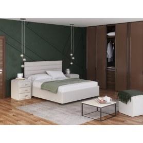 Кровать Verona, 180х200, лама лен