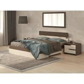 Кровать Milton, 160х200, Венге/Дуб Шамони