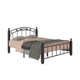 Кровать Гарда 5, 160х200, черная
