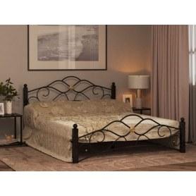 Кровать Гарда 3, 160х200, черная