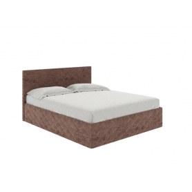 Кровать Quadro, 180х200, ткань Софтнесс стоун