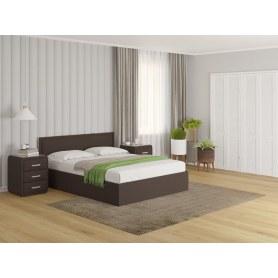Кровать Aura, 180х200, Savana Chocolate