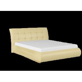 Кровать с подъемным механизмом Лаура 1400 (Остин Крем)