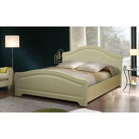 Кровать Ивушка-5 2000х1200, цвет Дуб беленый