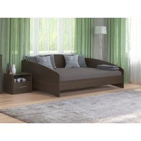 Кровать Этюд Софа, 180х200, дуб венге