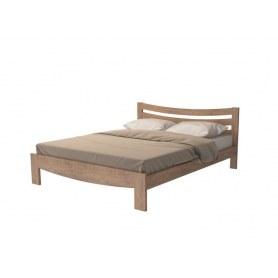 Кровать Vesna Line 2, 200х200, береза, антик