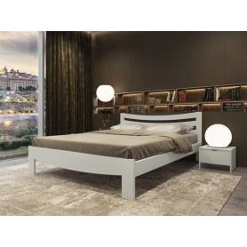 Кровать Vesna Line 2, 160х200, береза, белая эмаль