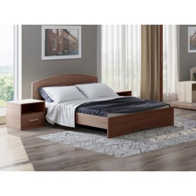 Кровать Этюд, 180х200, ясень шимо темный