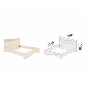 Кровать Соната 98.01.1 (Спальное место 1600х2000)