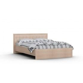 Кровать Gloss, фасад экокожа (G-Кр-03 1200 к, Выбеленный дуб)