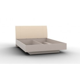 Кровать с подъемным механизмом Portland (P-Кр-05, Основание с ГПМ 1600), серый камень